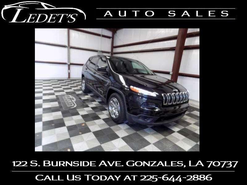 2014 Jeep Cherokee Sport - Ledet's Auto Sales Gonzales_state_zip in Gonzales Louisiana