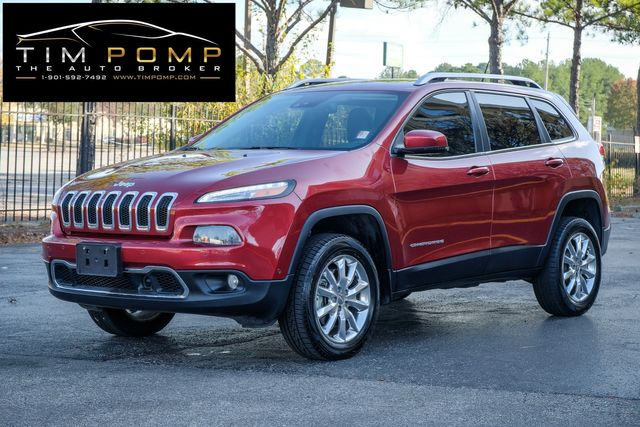 2014 Jeep Cherokee Limited sunroof heated & cooled leather seats NAVI