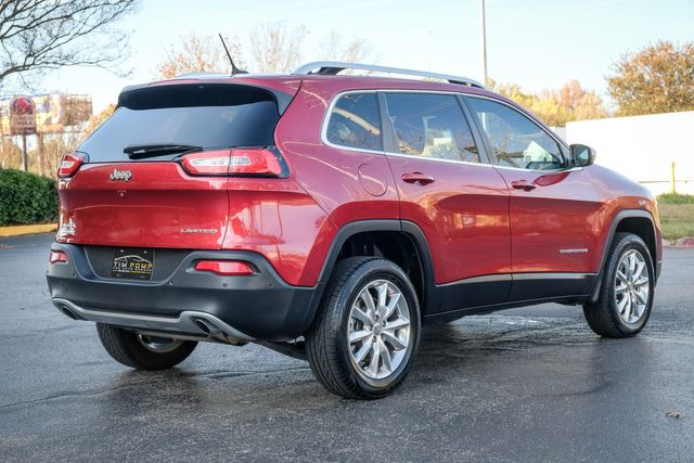 2014 Jeep Cherokee Limited sunroof heated & cooled leather seats NAVI in Memphis, Tennessee 38115