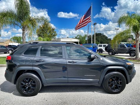 2014 Jeep Cherokee TRAILHAWK CARFAX CERT 1 OWNER NAV  in Plant City, Florida
