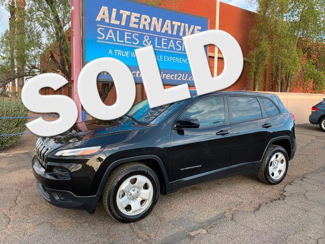 2014 Jeep Cherokee Sport 3 MONTH/3,000 MILE NATIONAL POWERTRAIN WARRANTY Mesa, Arizona