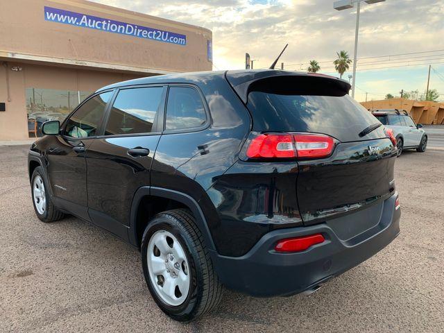 2014 Jeep Cherokee Sport 3 MONTH/3,000 MILE NATIONAL POWERTRAIN WARRANTY Mesa, Arizona 2