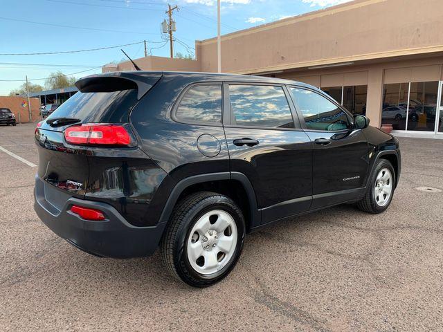 2014 Jeep Cherokee Sport 3 MONTH/3,000 MILE NATIONAL POWERTRAIN WARRANTY Mesa, Arizona 4