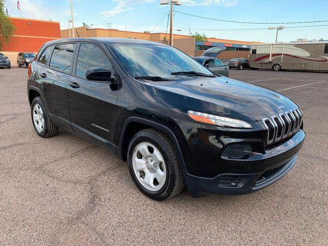 2014 Jeep Cherokee Sport 3 MONTH/3,000 MILE NATIONAL POWERTRAIN WARRANTY Mesa, Arizona 9