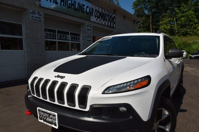2014 Jeep Cherokee Trailhawk Waterbury, Connecticut 4
