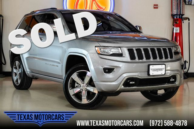 2014 Jeep Grand Cherokee Overland 4x4 in Plano, TX 75075