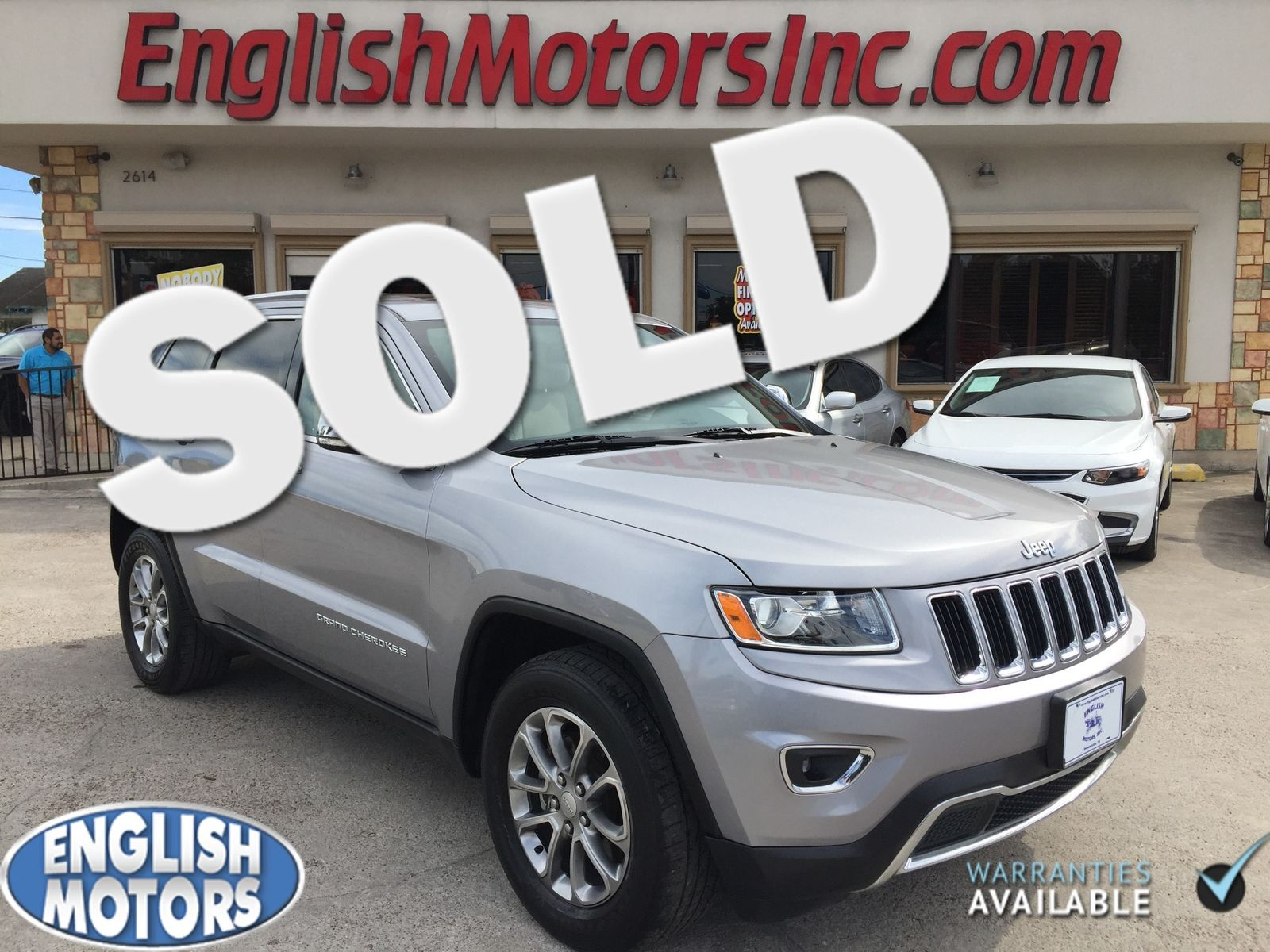 2014 Jeep Grand Cherokee Limited Brownsville Tx English Motors