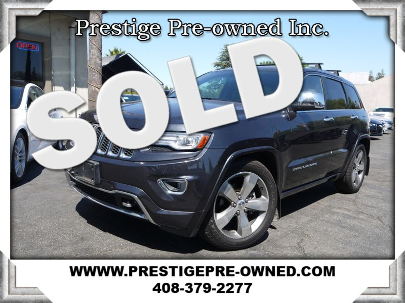 2014 Jeep GRAND CHEROKEE OVERLAND ((**AWD//NAVI//BACK UP CAM**))  in Campbell CA