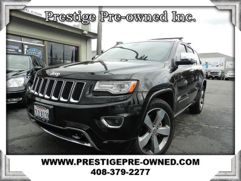 2014 Jeep GRAND CHEROKEE OVERLAND  in Campbell, CA