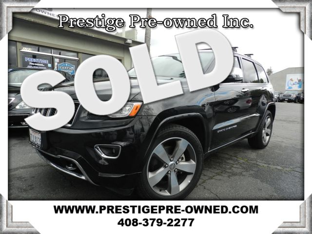 2014 Jeep GRAND CHEROKEE OVERLAND  in Campbell CA