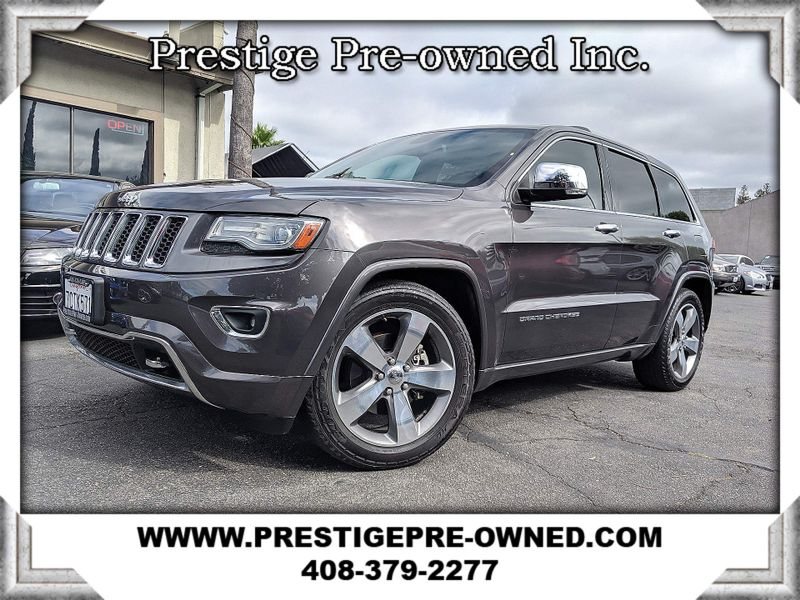 2014 Jeep GRAND CHEROKEE 4x4 OVERLAND *WITH 1 YEAR 12K COMPREHENSIVE WARRANTY*  in Campbell CA