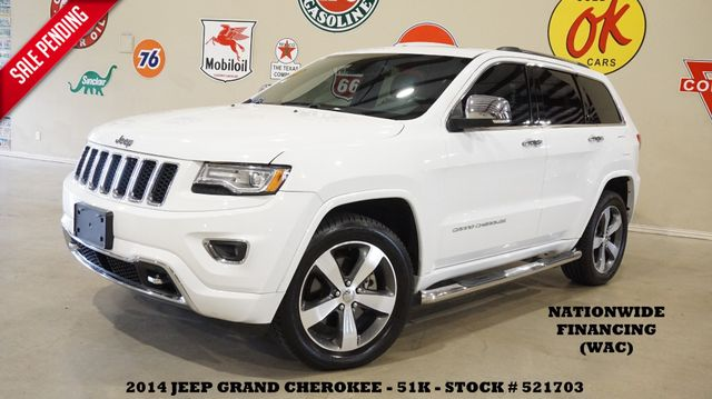 2014 Jeep Grand Cherokee Overland 4X4 DIESEL,PANO ROOF,NAV,BACK-UP,51K