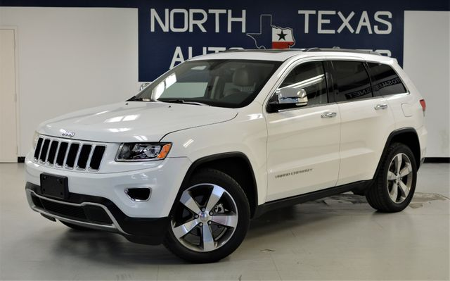 2014 Jeep Grand Cherokee Limited 1 OWNER NAV ROOF