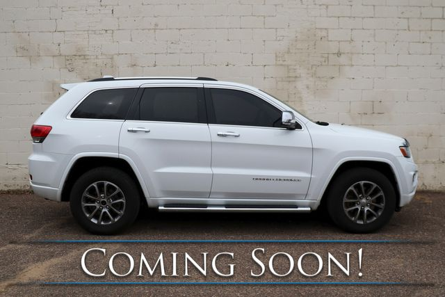 2014 Jeep Grand Cherokee Overland Eco-Diesel 4x4 w/Advanced Technology Pkg, Nav, Panoramic Roof & Tow Pkg in Eau Claire, Wisconsin 54703
