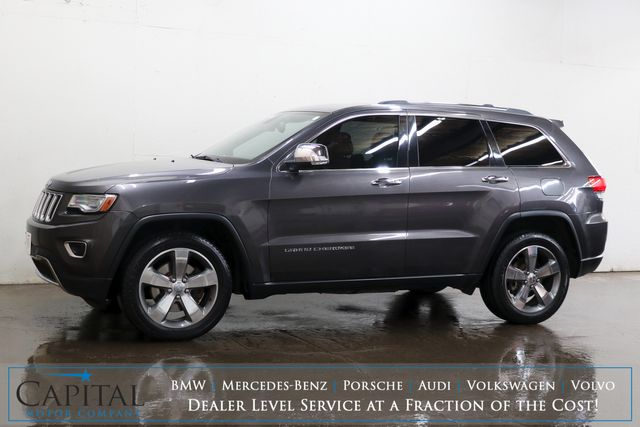 2014 Jeep Grand Cherokee Limited 4x4 ECO-Diesel SUV w/Nav, Backup Cam, Panoramic Roof & Heated/Cooled Seats in Eau Claire, Wisconsin 54703