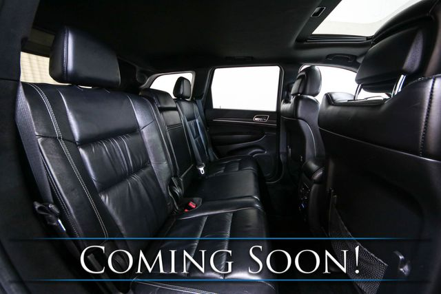 2014 Jeep Grand Cherokee Limited 4x4 w/Navigation, Backup Cam, Heated Seats, Moonroof & Premium Audio in Eau Claire, Wisconsin 54703