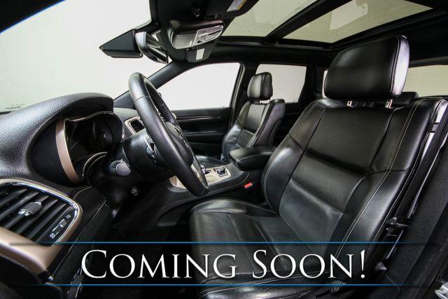 2014 Jeep Grand Cherokee Limited Diesel 4x4 w/Nav, Backup Cam, Panoramic Roof & Heated Steering Wheel in Eau Claire, Wisconsin 54703