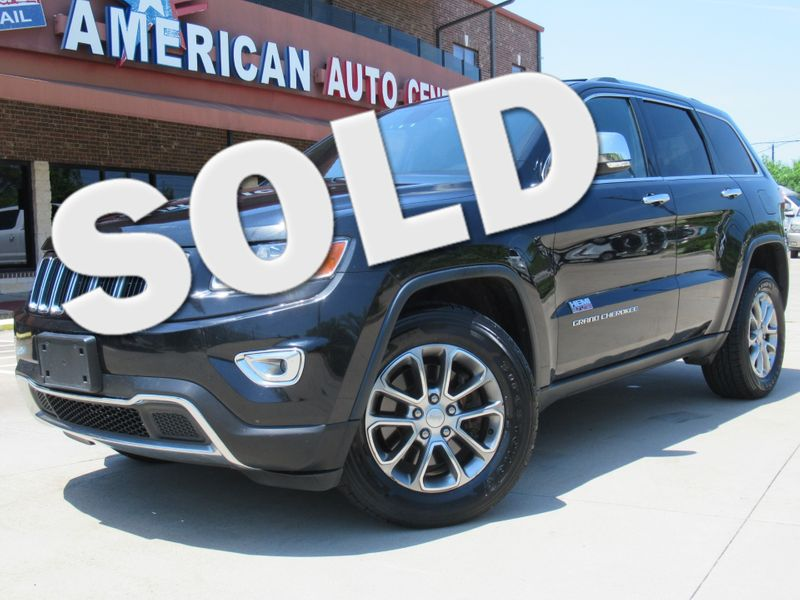 2014 Jeep Grand Cherokee Limited | Houston, TX | American Auto Centers in Houston TX