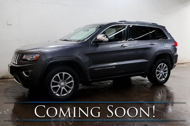 2014 Jeep Grand Cherokee Limited 4x4 ECO-Diesel w/Nav, Heated/Cooled Seats, Panoramic Roof & Tow Pkg in Eau Claire, Wisconsin 54703