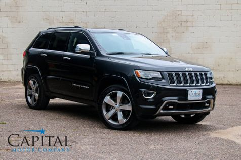 2014 Jeep Grand Cherokee Overland 4x4 EcoDiesel with Advanced Tech Pkg, Heated/Cooled Seats & Tow Pkg in Eau Claire