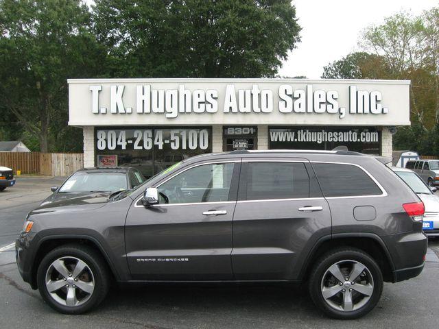 2014 Jeep Grand Cherokee Limited 4X4 Richmond, Virginia 0
