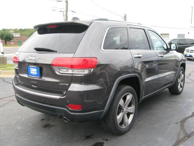 2014 Jeep Grand Cherokee Limited 4X4 Richmond, Virginia 5