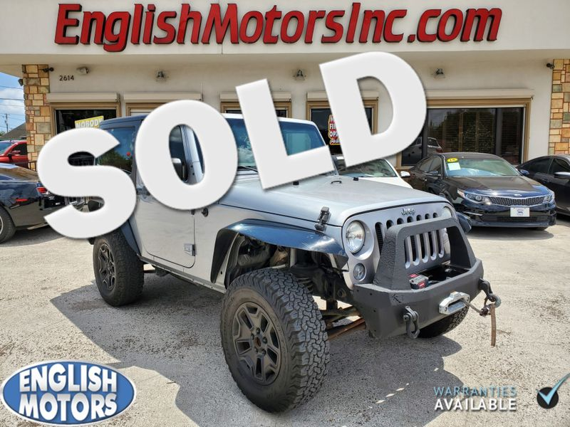2014 Jeep Wrangler Sport  Brownsville TX  English Motors  in Brownsville, TX