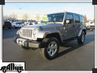 2014 Jeep Wrangler Unlimited Sahara 4Dr 4WD in Burlington, WA 98233