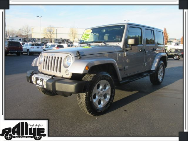 2014 Jeep Wrangler Unlimited Sahara 4Dr 4WD in Burlington WA, 98233