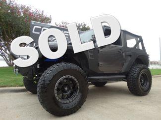 2014 Jeep Wrangler  Sport w/ Step Rails, Nice Mods, Big Wheels 38k! | Dallas, Texas | Corvette Warehouse  in Dallas Texas