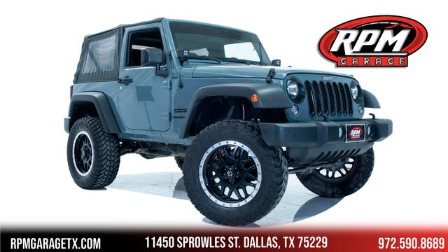 2014 Jeep Wrangler Sport Lifted with Upgrades