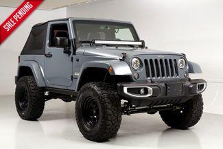 2014 Jeep Wrangler Sahara 2 Door Lifted 35 Inch Tires Light Bar Texas in Dallas, Texas 75220