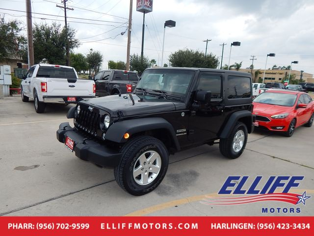 2014 Jeep Wrangler Sport in Harlingen, TX 78550