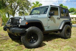 2014 Jeep Wrangler Willys Wheeler in Lighthouse Point FL