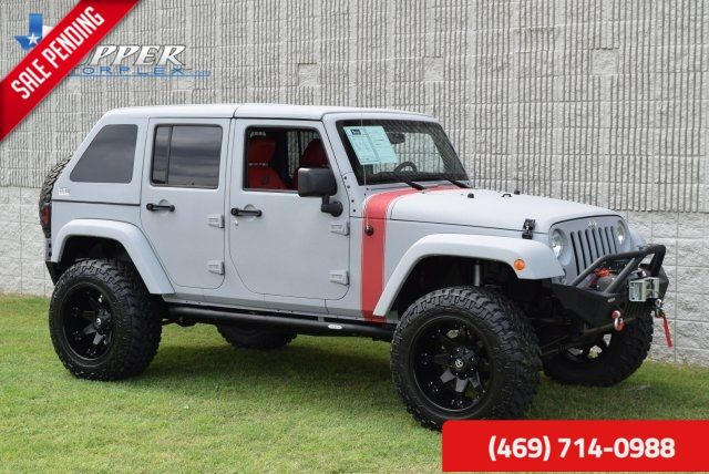 2014 Jeep Wrangler Unlimited Sport LIFTED HLL