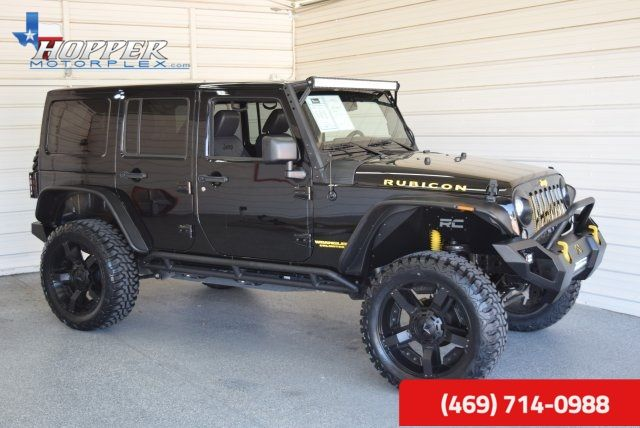 Jeep Wrangler Lifted >> 2014 Jeep Wrangler Unlimited Rubicon Lifted Mckinney Texas