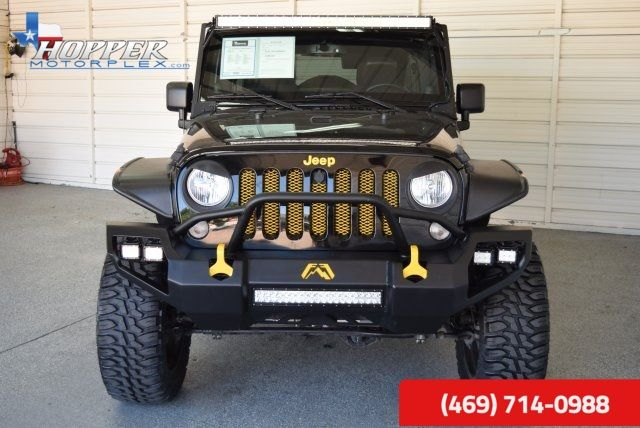 2014 Jeep Wrangler Unlimited Rubicon Lifted Mckinney Texas