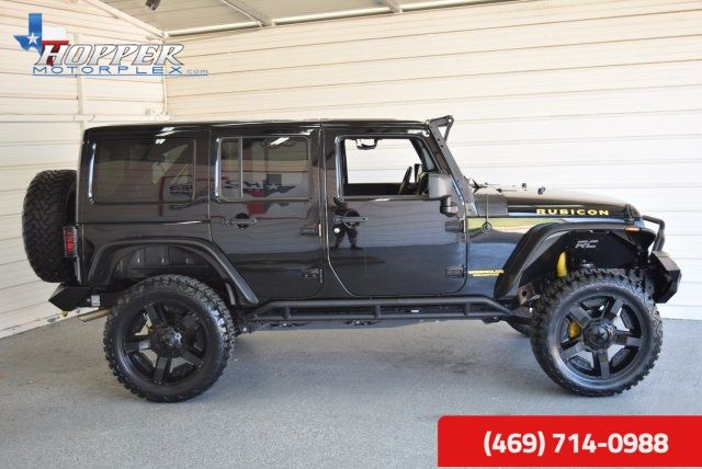 2014 Jeep Wrangler Unlimited Rubicon LIFTED!!! in McKinney Texas, 75070