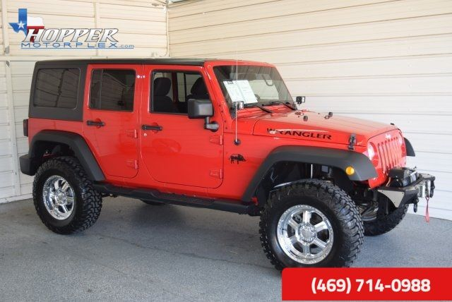 2014 Jeep Wrangler Unlimited Sport LIFTED!! HLL