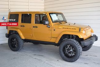 "2014 Jeep Wrangler Unlimited Rubicon 4"" FULL SUSP LIFT CUSTOM 20'... in McKinney Texas, 75070"