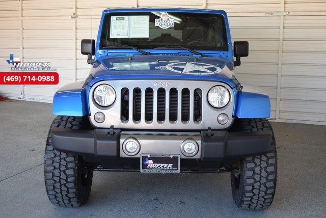"2014 Jeep Wrangler Unlimited ""OSCAR MIKE"" ED. 4"" FULL SUSP LIFT CU... in McKinney Texas, 75070"
