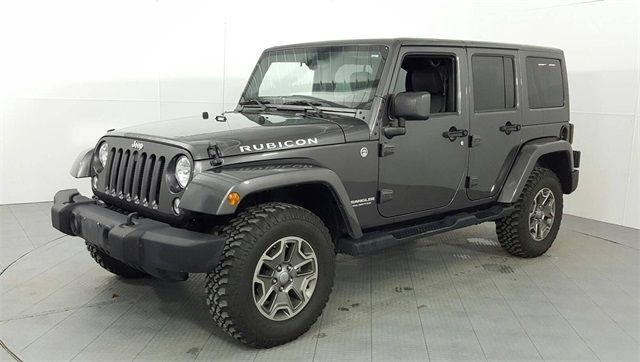 2014 Jeep Wrangler Unlimited Rubicon Lift/Custom Wheels and Tires in McKinney Texas, 75070