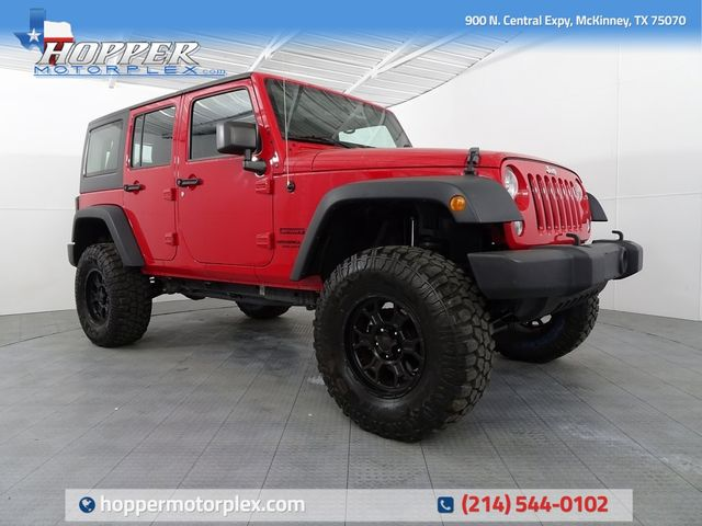 2014 Jeep Wrangler Unlimited Sport LIFT/CUSTOM WHEELS AND TIRES