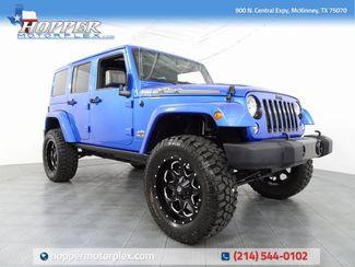 2014 Jeep Wrangler Unlimited Sahara Polar Edition Lifted Custom Wh... in McKinney, Texas 75070