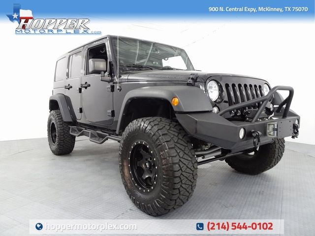 2014 Jeep Wrangler Unlimited Rubicon LIFT/CUSTOM WHEELS AND TIRES