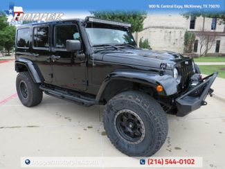 2014 Jeep Wrangler Unlimited Rubicon Custom Lift Wheels and Tires in McKinney, Texas 75070