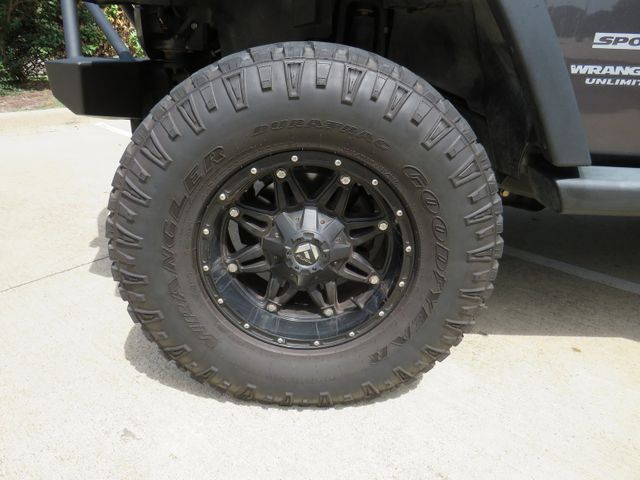 2014 Jeep Wrangler Unlimited Sport BUDGET LIFT/CUSTOM WHEELS AND T... in McKinney, Texas 75070