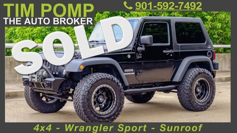 2014 Jeep Wrangler Sport | Memphis, Tennessee | Tim Pomp - The Auto Broker in Memphis Tennessee