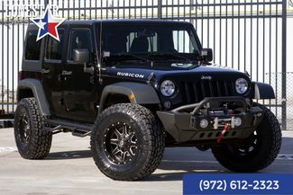 2014 Jeep Wrangler Unlimited Rubicon Lift Leather Navigation Loaded in Plano Texas, 75093
