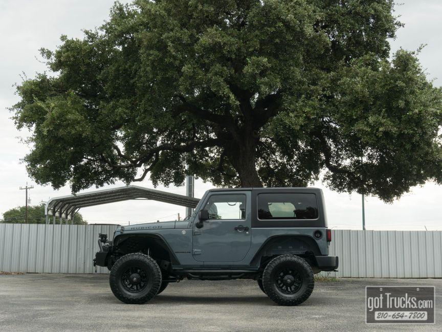 U003c 2014 Jeep Wrangler Rubicon 3.6L V6 4X4 In San Antonio Texas, ...